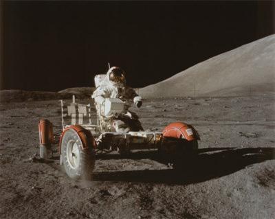 NASA - Apollo Astronaut - Lunar Rover  - ©Spaceshots