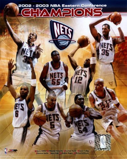 63a3cf13e 2002-2003 New Jersey Nets East Conference Champions Photo at AllPosters.com