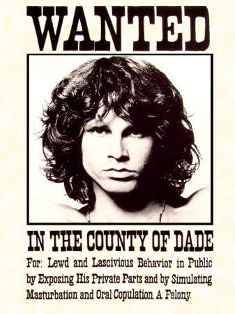 The Doors -  Wanted Poster