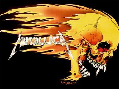 Metallica - Skull and Flames