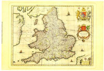 Anglia Map