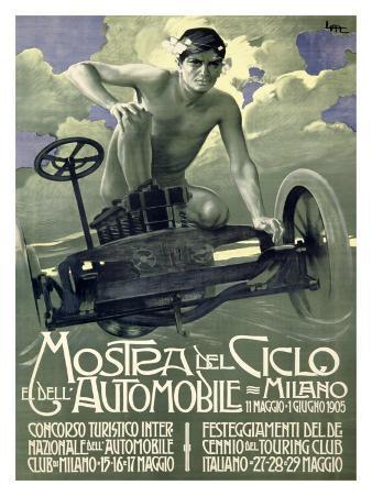 Mostra del Ciclo, Milano, 1905