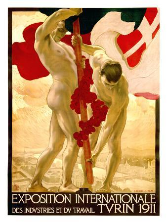 Expo Internationale Turin, 1911