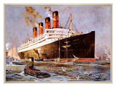 Cunard Line, Aquitania