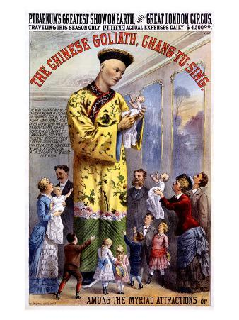 P.T. Barnum and the Great London Circus: The Chinese Goliath