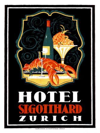 Hotel St. Gotthard, Zurich