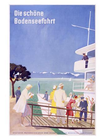 Bodensee, Fahrt
