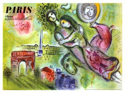 Paris, l'Opera, 1965