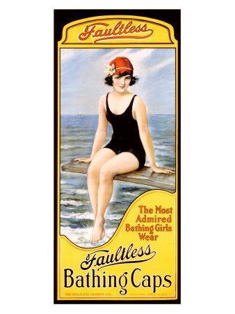 Faultless Bathing Caps