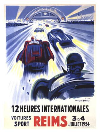 12 Heures International Reims, 1954