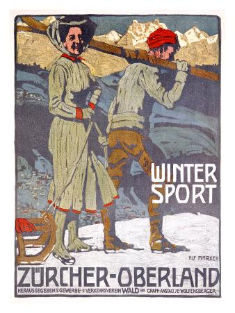 Winter Sport, Zurcher, Oberland