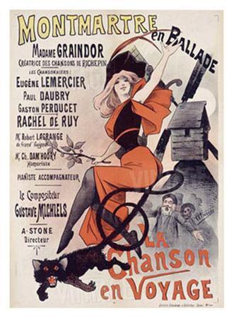 Montmartre en Ballade, La Chanson