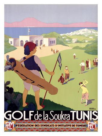 Golf de la Soukra, Tunis