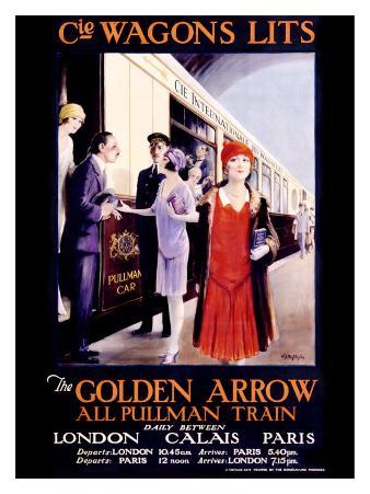 Wagons Lits, The Golden Arrow