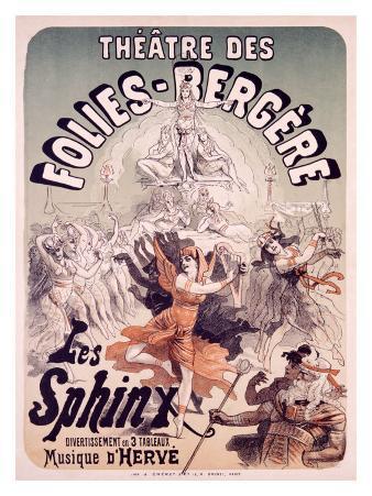 Folies Bergere, Les Sphinx