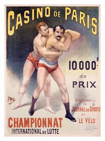 Casino de Paris Championnat de Lutte