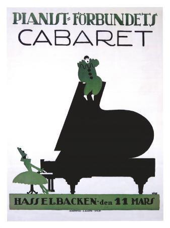 Pianist Forbundets Cabaret