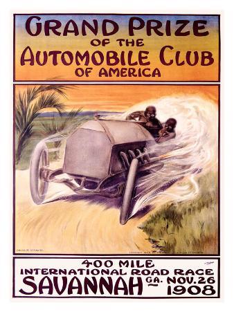 Automobile Club of America, Savannah Race
