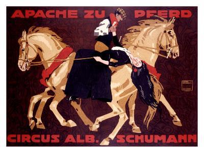 Circus Schumann, Apache Zu Pferd