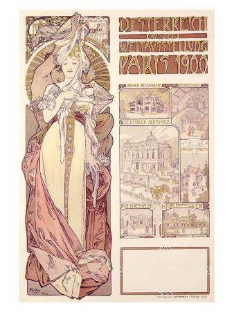 Osterreich, Paris, 1900