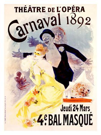 Carnaval, 1892