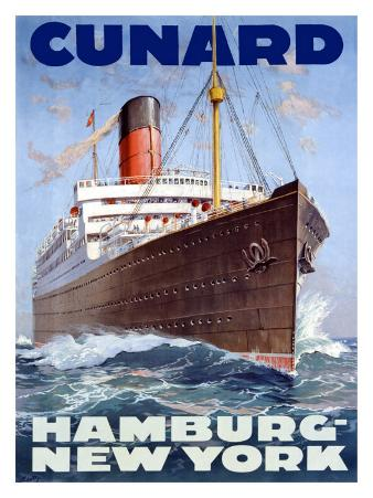 Cunard Line, Hamburg to New York