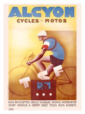Alcyon Cycles-Motos