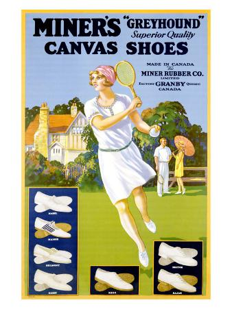 Miner's Canvas Shoes