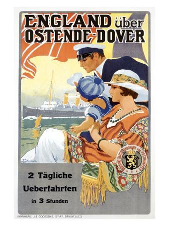 England Uber Ostende Dover