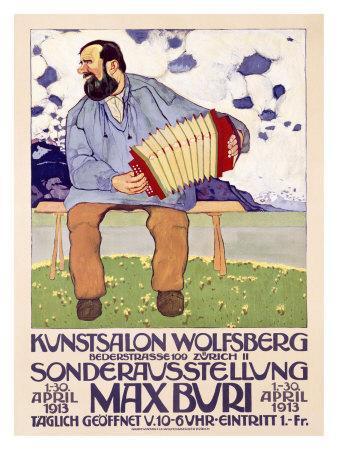 Max Buri, Kunstsalon, Wolfsberg