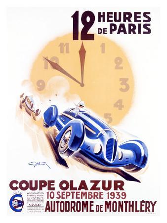 12 Heures de Paris, Coupe Olazur