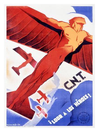 C.N.T., Loor a Los Heroes