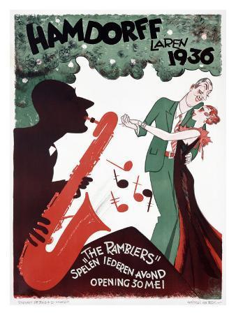 Hamdorff Laren Jazz Ramblers, c.1936