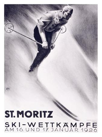 St. Moritz, Ski
