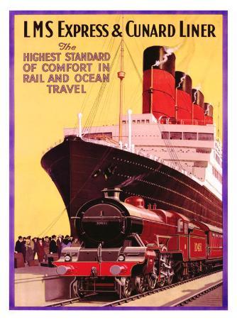 LMS Express and Cunard Liner