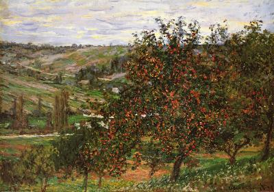 Apple Trees in Bloom at Vetheuil, c.1887