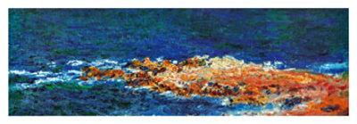 La Grande Bleue a Antibes, c.1888 (detail)
