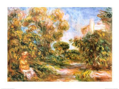 Woman in a Landscape