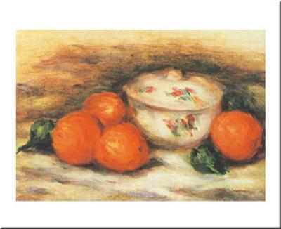 Still Life with a Covered Dish and Orange