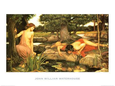 Echo and Narcissus, c.1903