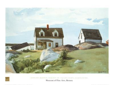 Houses Of Squam Light