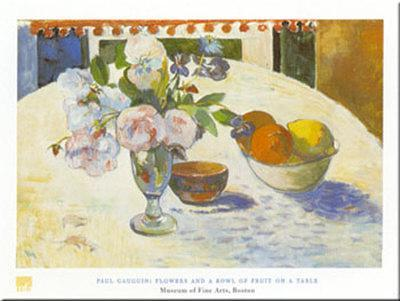 Flowers And Bowl