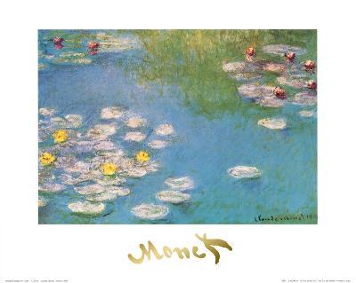 Water Lilies, c.1908 (detail)