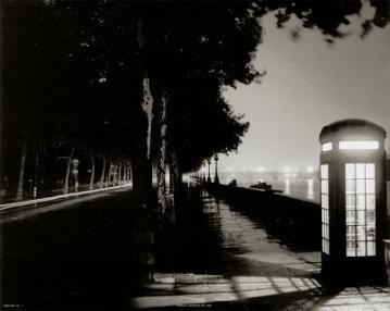 London Embankment At Night