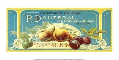 Confitures De Prunes Luxe