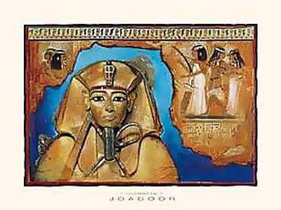 Tutanchamon In Blue