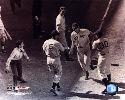 Ted Williams - Homeplate (sepia)
