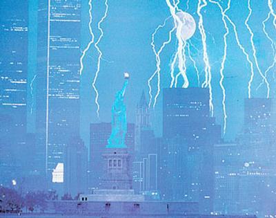New York and Lightning