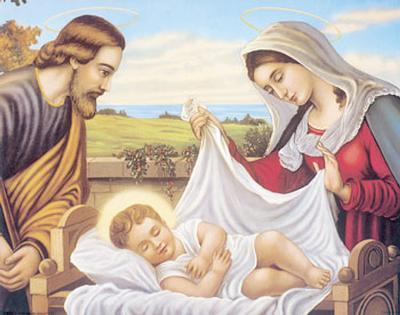 Holy Family and Jesus