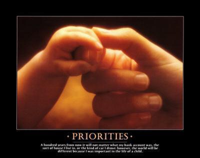 Priorities - Child